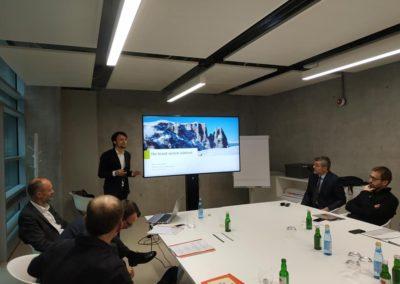 "La presentazione del brand ""Qualità Alto Adige/Qualitätszeichen Südtirol""con Martin Bertagnolli, Market & Brand Management IDM Südtirol"