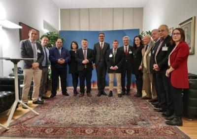 La delegazione con il Presidente della Provincia di Bolzano Arno Kompatcher