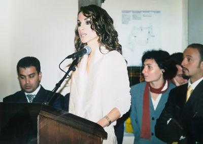 Sua Maestà Rania Al-Abdullah, Regina del Regno Hascemita di Giordania