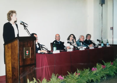 Rania di Giordania a Milano, 2002