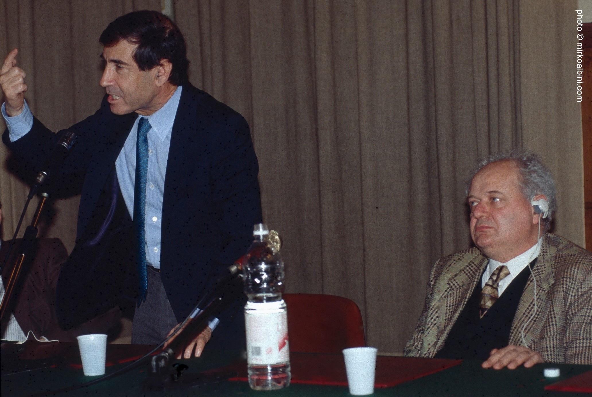 Janiki Cingoli con Shlomo Ben Ami