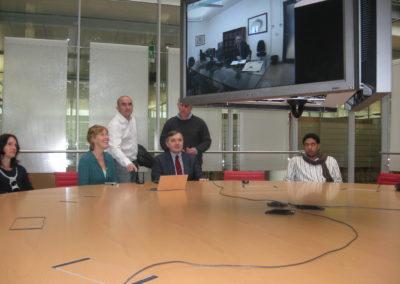 Training alla redazione de IlSole24Ore. Ugo Tramballi e Antonella Scott