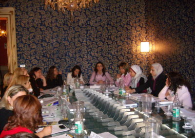 Israeli and Palestinian Women: Overcoming Hate, Building Peace, 21-25 May 2008, Turin