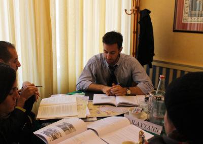 Seminario tra giovani leader israeliani e palestinesi. Maggio 2013, Milano
