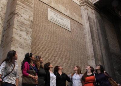 Donne palestinesi e israeliane a Roma per parlare di pace. maggio 2012, Roma