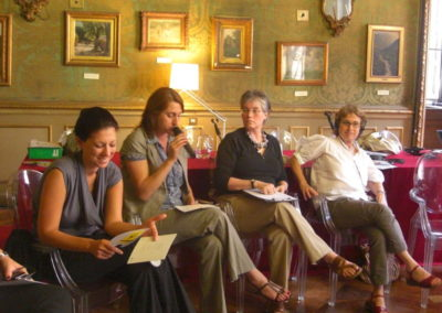 Young Israeli and Palestinian Women Leaders. The Dignity of Peace, 18-21 June 2009, Turin