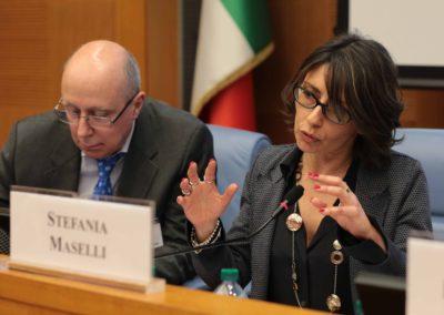 Stefania Maselli, Servizio Generale SPRAR
