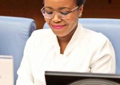 Ada Ugo Abara, membro del direttivo del CoNNGI – Coordinamento Nazionale Nuove Generazioni Italiane e responsabile  dell'associazione Arising Africans di Padova
