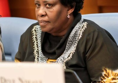 Marie Thérèse Mukamitsindo, Presidente della Cooperativa sociale Integrata A.R.L. Karibu di Latina, Vincitrice del Moneygram Awards 2018
