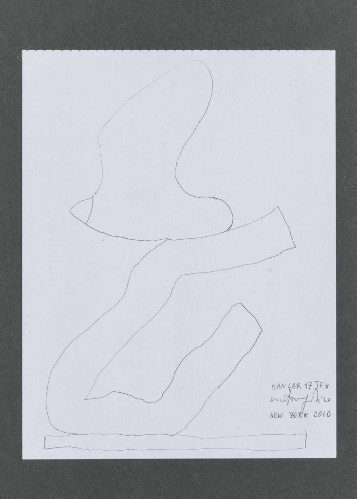 Antonio PARADISO, Volo, 2010, Disegno,cm 30x23