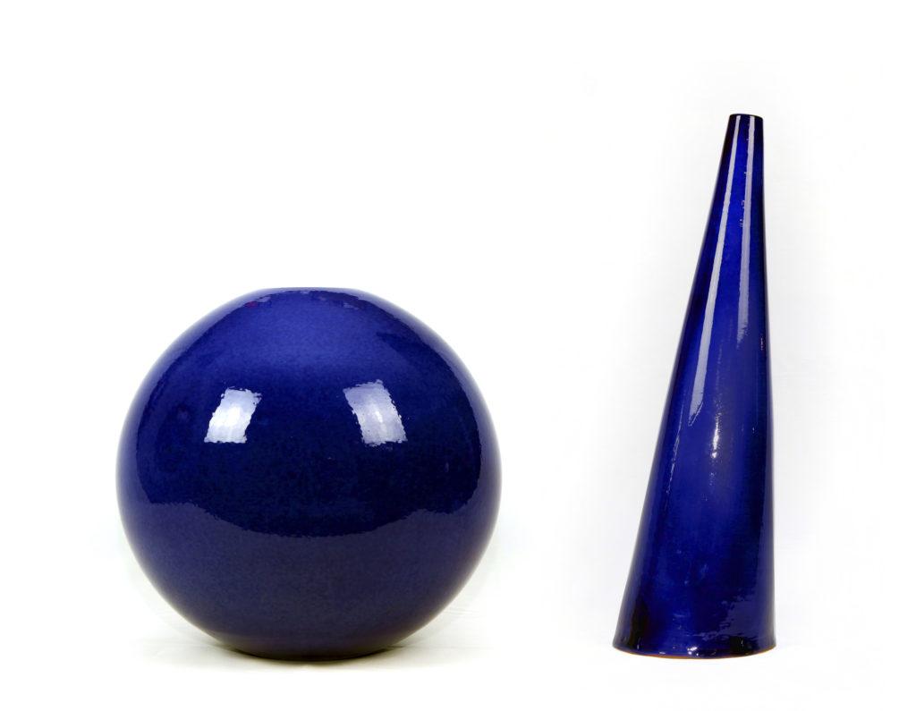 Gala ROTELLI, Stanlio e Ollio, 2016, Ceramica lavorata a mano, cm 55x70