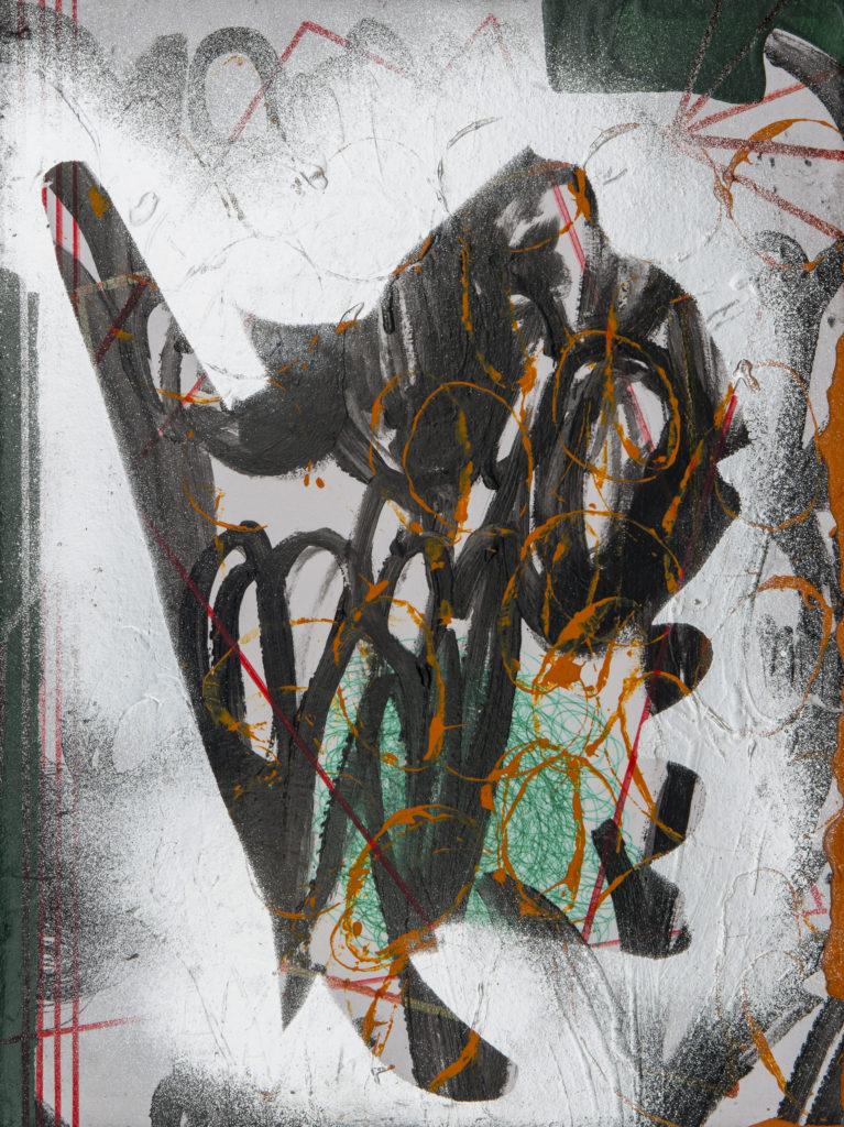 Michael ROTONDI, Sukota Nature, 2018, Tecnica mista su tela, cm 40x30