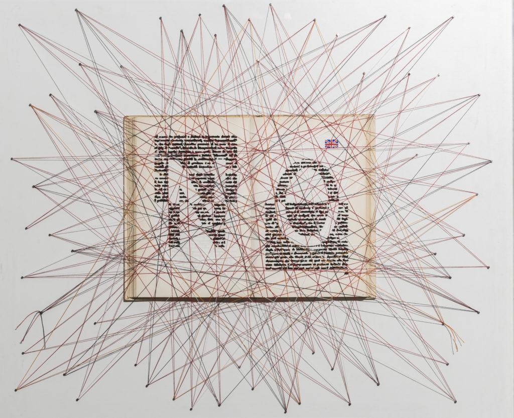 Dado SCHAPIRA, NO, 2011, Mista su libro, cm 55x66